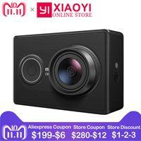 [Edición Internacional] cámara de acción Original Xiaomi YI Xiaoyi P 1080 p Cámara deportiva WiFi 3D reducción de ruido 16MP 60FPS Ambarella