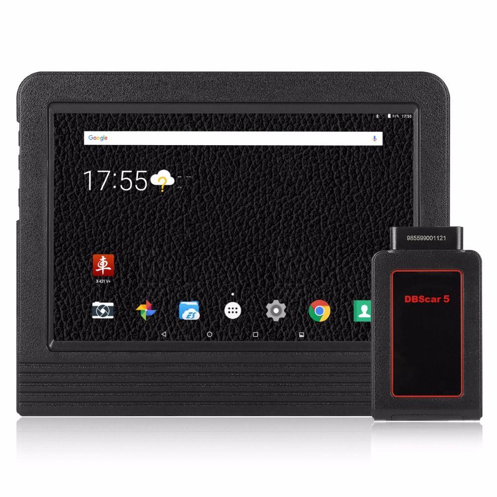 [Launch Dealer] 100% Original Launch X431 V+ V Plus Scanner Full System Auto OBD2 Diagnostics Wifi/Bluetooth 2 Year Free Update