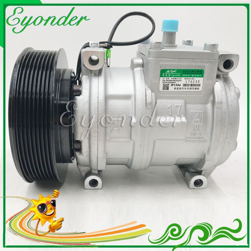 AC A/C Klimaanlage Kompressor Kühlung Pumpe 10PA17C für JOHN DEERE TRAKTOR Serie 5 7020 8030 Serie 4,5 9,0 8,2 447170-9490