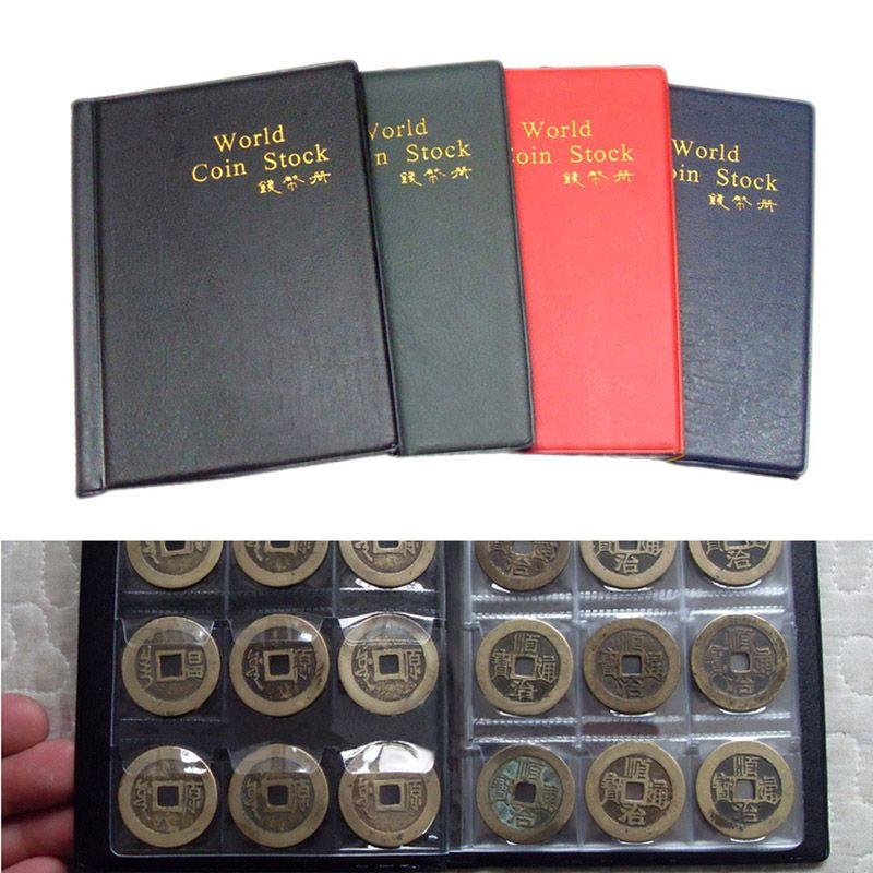 120 taschen Englisch Münzenalbum Fällen Halter Sammlung Penny Album Buch Taschen Sitzlager Collector Teilgehäuse