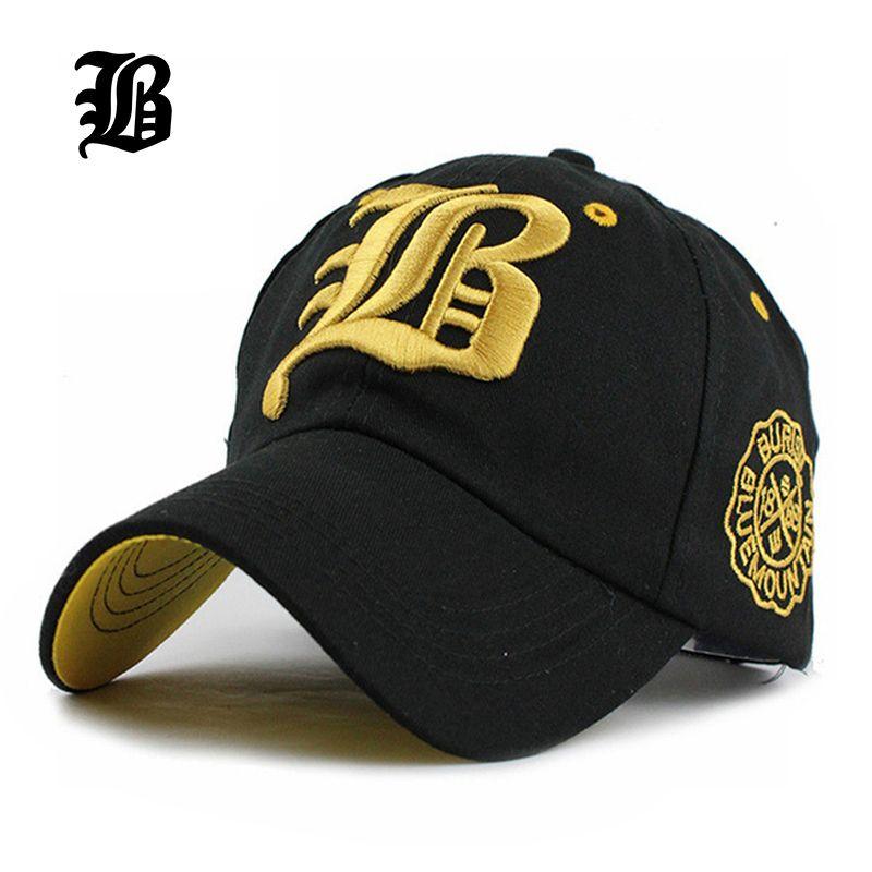 [FLB] lettre nouvelle marque chapeaux Hip hop chapeau mode Baseball casquette ajustée daim Snapback Gorras Hombre solide pour hommes et femmes F218