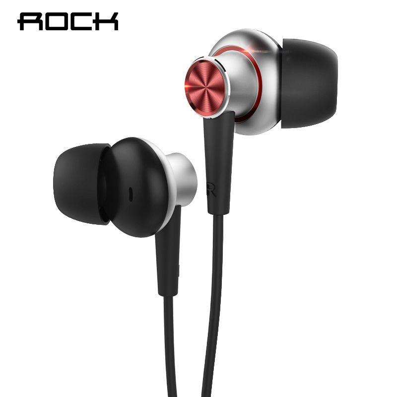 Rock Y5 Stereo Kopfhörer 3,5mm In-ohr Eerphones sweat-beweis Ohrhörer Bass Headset mit Mikrofon für iPhone Samsung Xiaomi