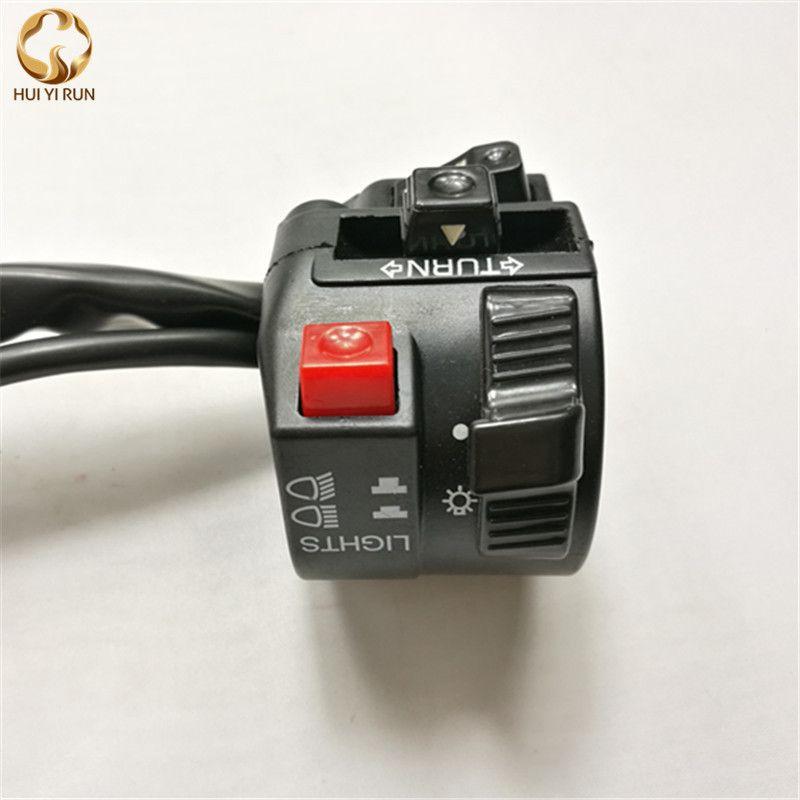 Motorcycle Turn Signal Light  speaker Switch Motorcycle Handlebar Switch