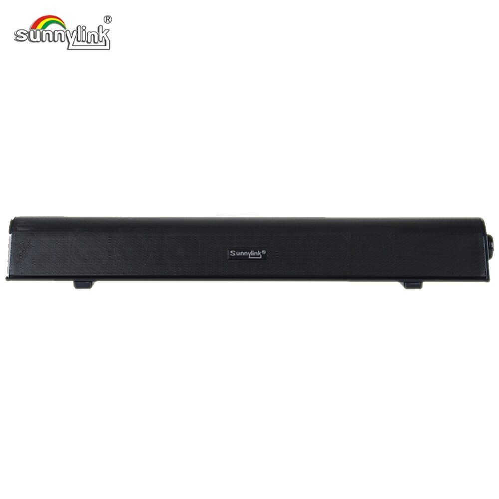 NEW PATENT USB SOUNDBAR WITH BUILT-IN SUBWOOFER USB DIGITAL AUDIO SOUND BAR ONE CABLE FOR POWER &AUDIO FOR COMPUTER & LAPTOP