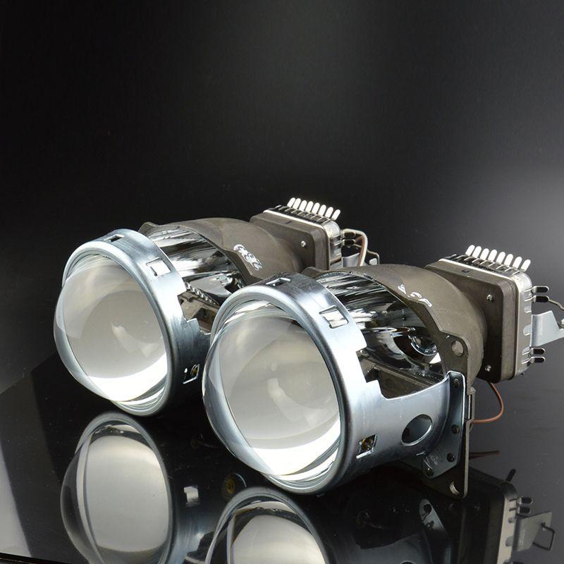 Car Light Retrofit 3.0 inch Original Q5 Projector Lens Bifocal, HID Bixenon Headlight model for D1S,D2S,D3S,D4S
