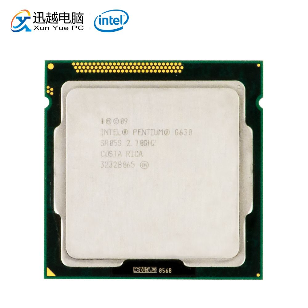 Intel Pentium G630 Desktop Processor G630 Dual-Core 2.7GHz 3MB L3 Cache LGA 1155 Server Used CPU