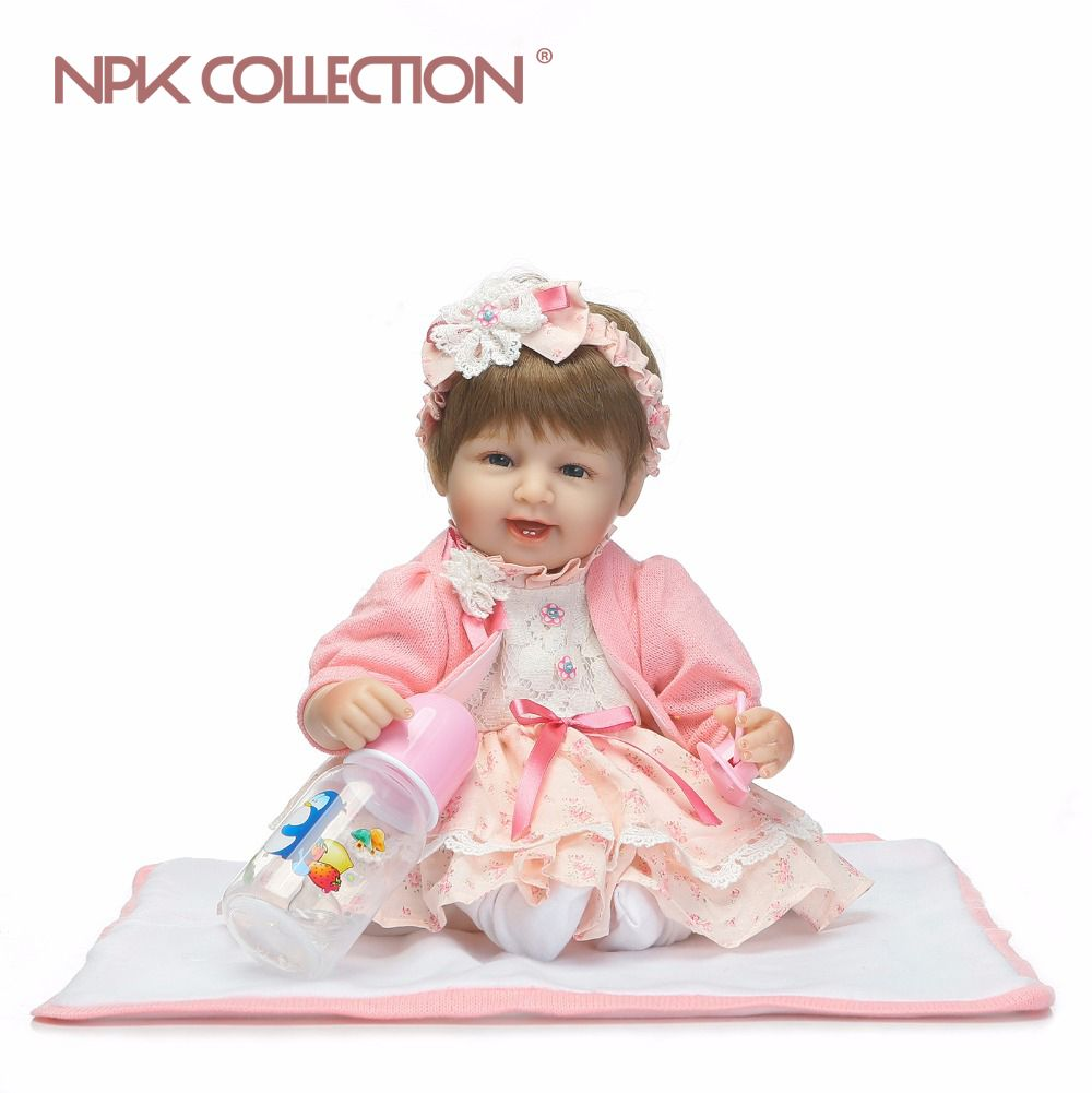 reborn baby dolls soft real gentle touch lovely premie baby doll realistic bebe reborn liflike pupular Christmas Gift