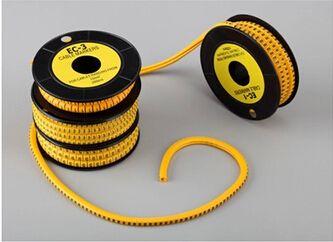 600 шт. ec-1 кабель Провода Маркеры Письмо 2.5mm0 до 9, +, -12 номер Каждый 50 шт. ясно Марк трубка Провода размер кабеля Провода маркеры
