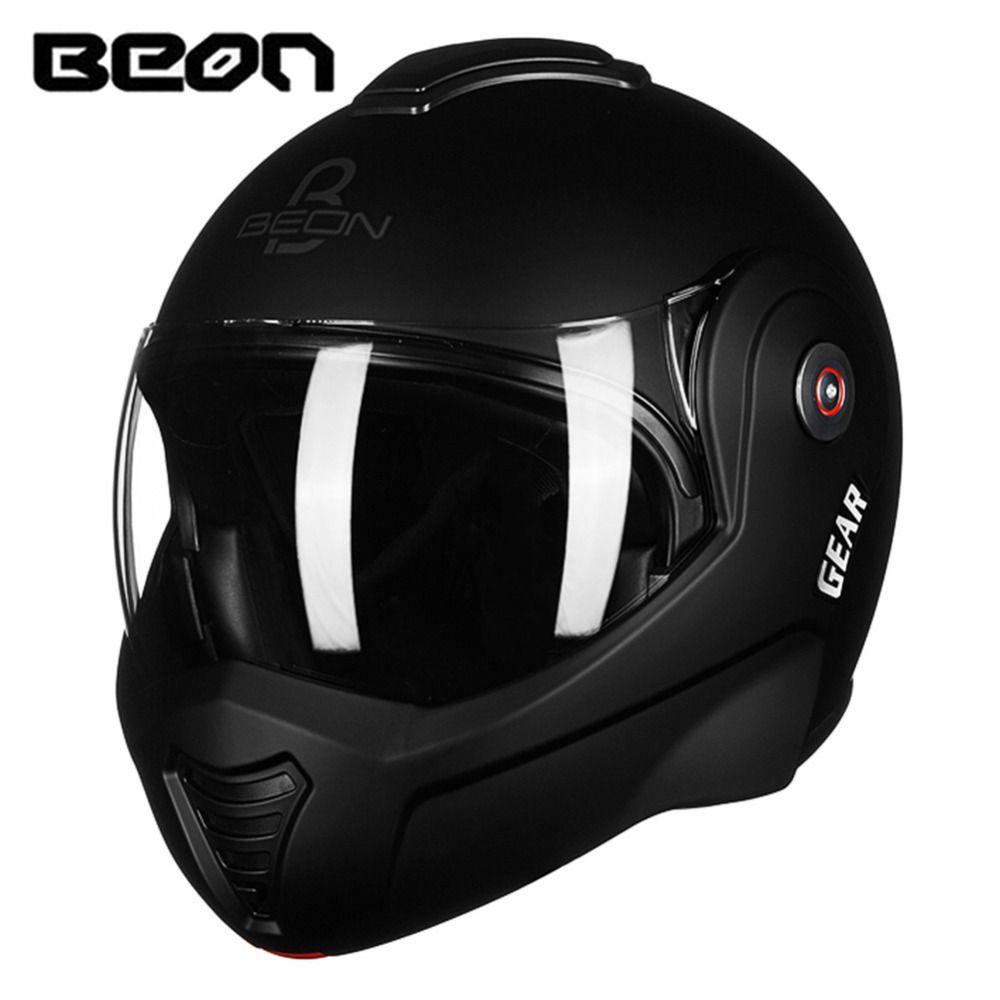 BEON 2017 New Flip up Motorcycle Helmet Modular Open Full Face Helmet Moto Casque Casco Motocicleta Capacete Helmets ECE
