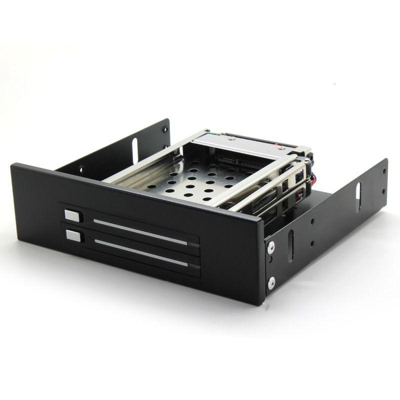 In stock SATA HDD Mobile Rack internal 2 Bay 2.5