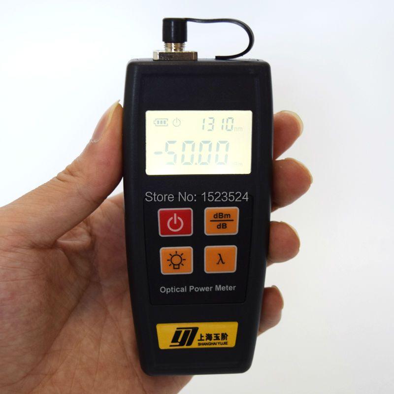 Diffusion de TÉLÉVISION PAR CÂBLE De Télévision YJ350C-50 ~ + 26dBm Portable Mini Mètre de Puissance Optique De Fiber