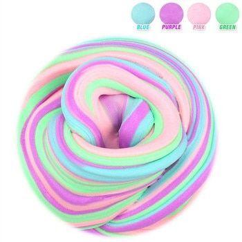60 ml Dynamique Moelleux Boue argile plastique Léger Argile coloré Modélisation Polymère Argile Sable Bouger À Modeler Gomme Pour Jouet À La Main