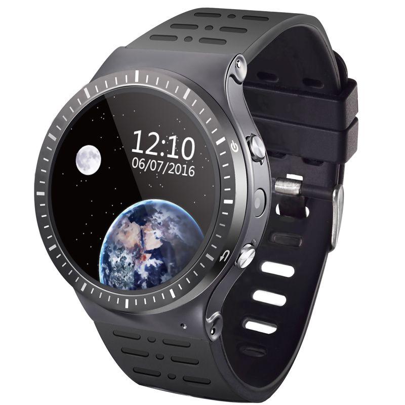 Smart Watch Téléphone S99B Soutien Android 5.1 MTK6580M 1.3G Quad-cores 8 GB Mémoire SIM Carte Wifi Bluetooth GPS Smartwatch PK KW88