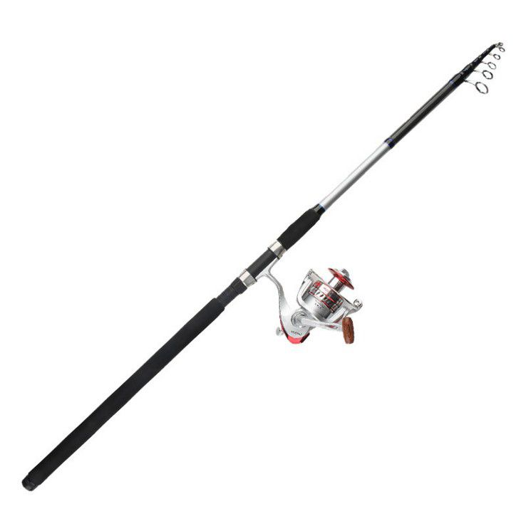 Export to Japan Telescopic Fishing Rod carbon fishing sea rod SURF ROD 2.7/3.0/3.3/3.6/3.9/4.2M Long shot telescopic fishing rod