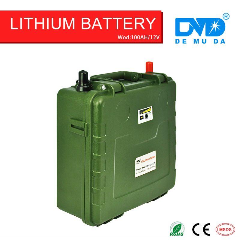 hot sale! lithium ion batteries 12v 100ah micro lipo lithium ion battery motor batteries with CE certificate free shipping