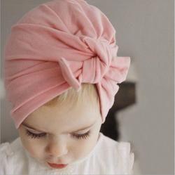 Baru Katun Bayi Perempuan Topi Bayi Beanies Rajutan Topi Musim Dingin Anak Tutup Perempuan Bayi Topi Anak Skullies Beanies Aksesoris