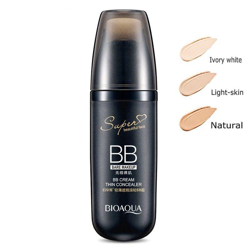 BIOAQUA Air Cushion BB Cream Concealer Moisturizing Foundation Makeup Bare Whitening Face Beauty Makeup Korean Cosmetics