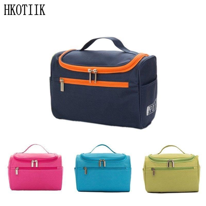 Grand sac cosmétique imperméable pour hommes de femmes sacs cosmétiques de voyage exigence organisationnelle sac de toilette cosmétique