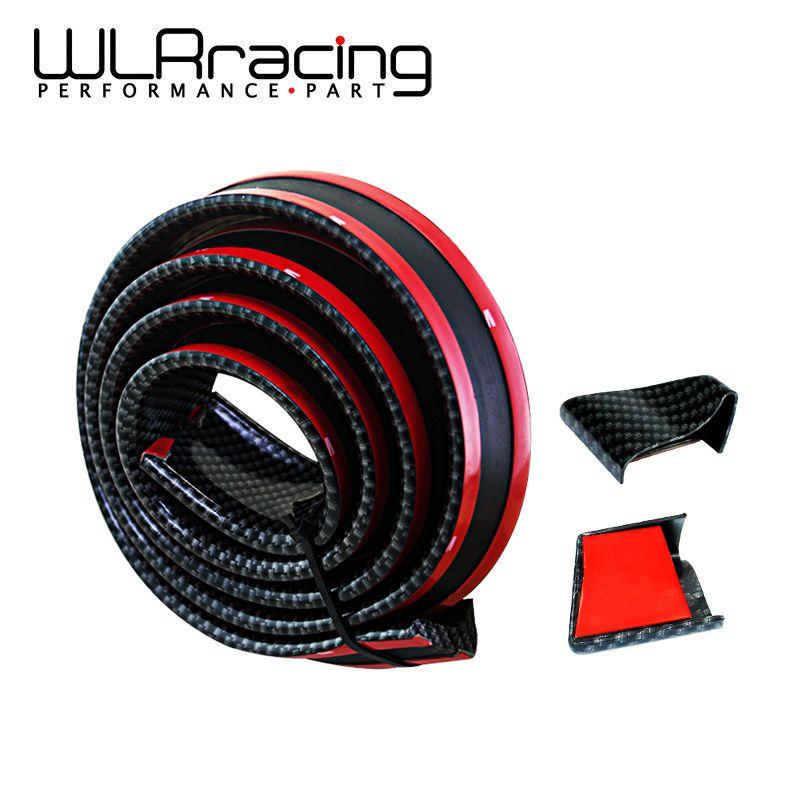 WLRING- 1.5M/ROLL 35MM WIDTH Universal Carbon Fiber car Rear Automotive Spoilers Carbon Spoiler for Honda BMW Audi WLR-RAS11