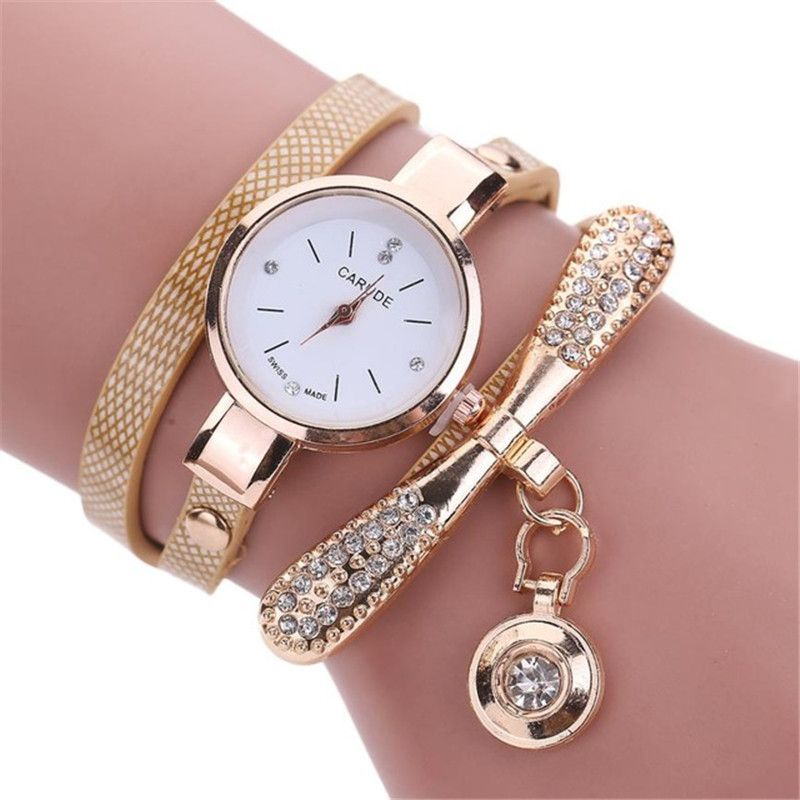 2017 Women watches New luxury Casual Analog Alloy Quartz Watch PU Leather Bracelet Watches Gift Relogio Feminino reloj mujer