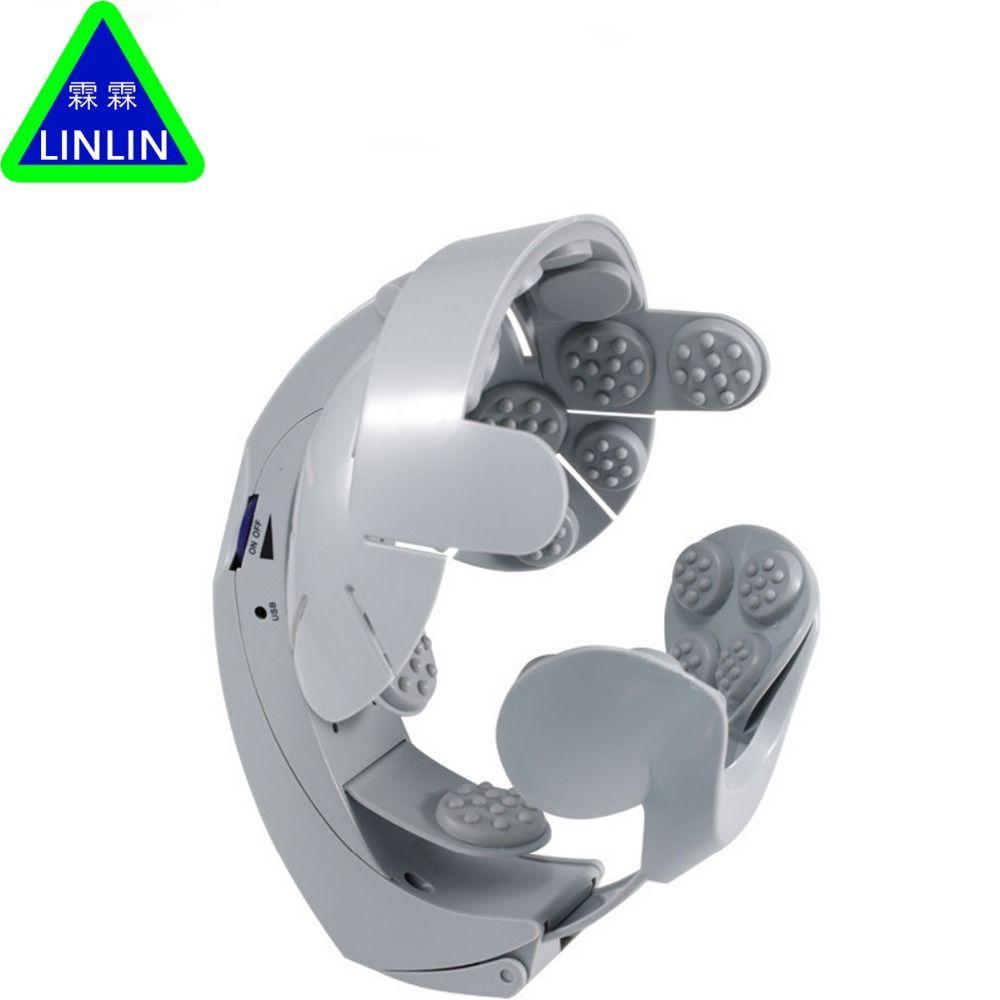 LINLIN Kopf Vibrationsmassage Einfach gehirn Massagegerät Elektrische Kopfmassage & Entspannen Gehirn Akupunkturpunkte Stress Release Maschine
