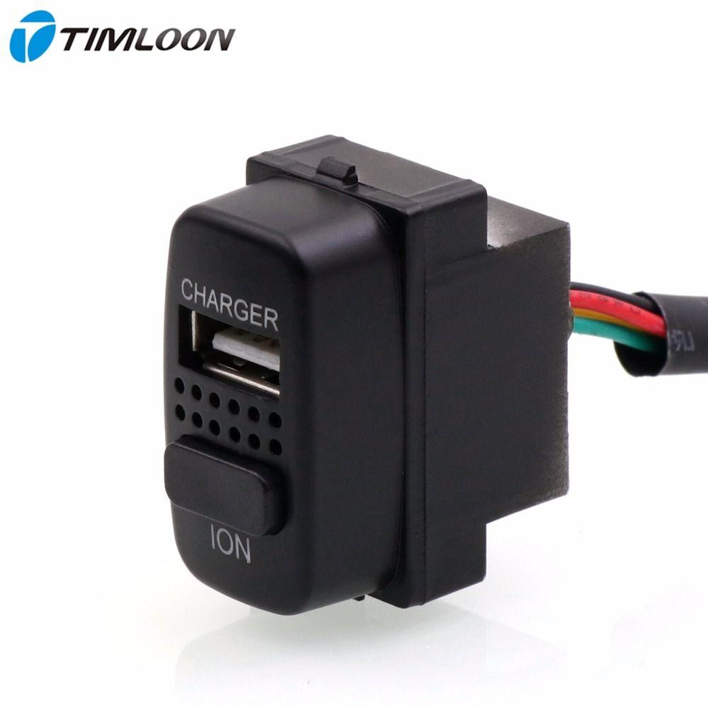 2in1 Auto 5 V 2.1A USB Ladegerät, auto luftreiniger, ionisator, negative ionen verwenden für mitsubishi, asx lancer, outlander pajero