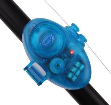 NEWEST Sound and LED Fishing Bite Alarms Fishing Line Gear Alert Indicator Buffer Fishing Supplies Volume Adjustabl Fluorescence