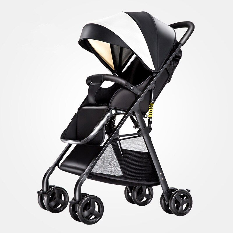 0~4Y Baby Strollers Super Light High Landscape Children Pram Summer Umbrella Cart Portable Pushchairs Trolley for Kids Poussette
