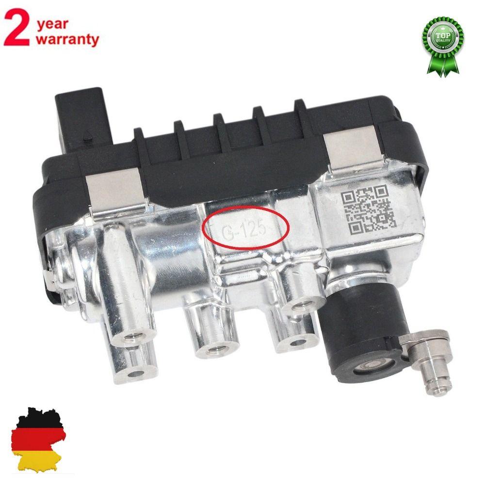 Turbo Electric Actuator G-125 for BMW 5er 525d 530d E60 61 X5 E53 G-125 712120 781751 6NW008091