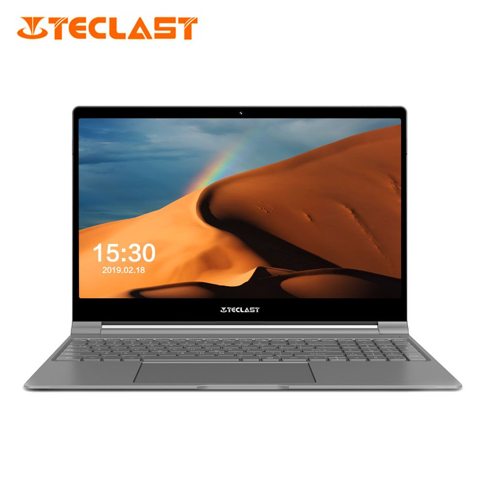 Teclast F15 Notebook 15,6 ''Windows 10 Home Englisch Version Intel N4100 Quad Core 1,1 GHz 8 GB RAM 256 GB SSD HDMI 5500 mAh Laptops