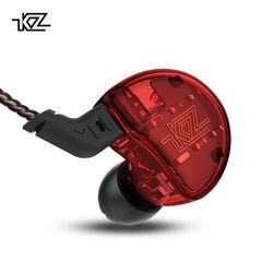 KZ ZS10 Headphone 10 Driver Di Earphone 4BA + 1DD Dinamis Armature Earbud HI FI Bass Headset Kebisingan Membatalkan Ear Monitors hybrid