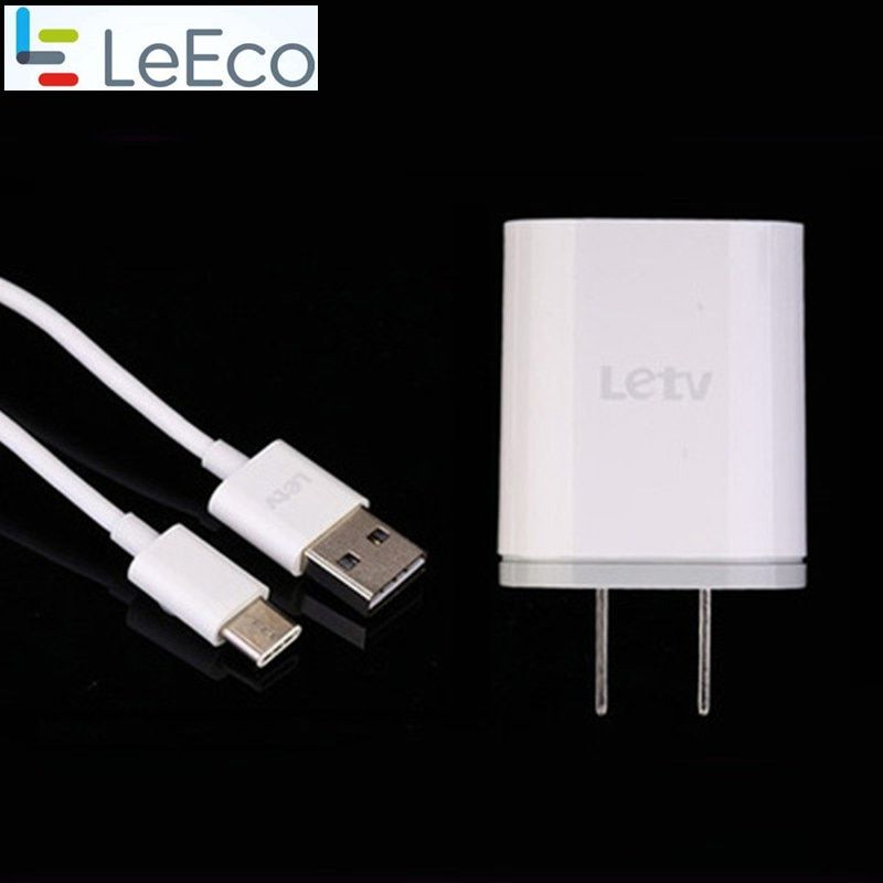 Original letv leeco le s3 Fast Charger For Max 2/pro 3/x626/le2 Mobile phone QC 2.0 Quick Charge usb wall adapter &Type C cable