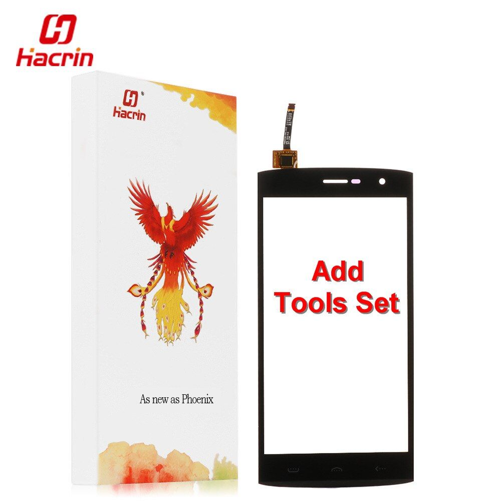 Hacrin Homtom HT7 Pro Écran Tactile + Outils Ensemble Cadeau 100% Nouveau Digitizer Remplacement Assemblée panneau de verre pour mobile téléphone