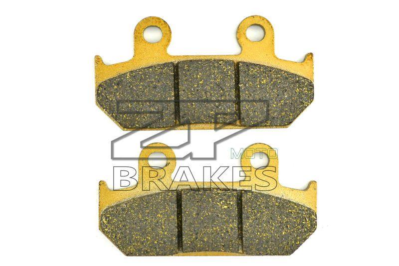Organic Brake Pads For SUZUKI AN 650 Burgman/Skyware K/Z/L/A 2003-2014 04 05 06 07 08 09 10 11 12 13 Rear OEM New ZPMOTO-BRAKES
