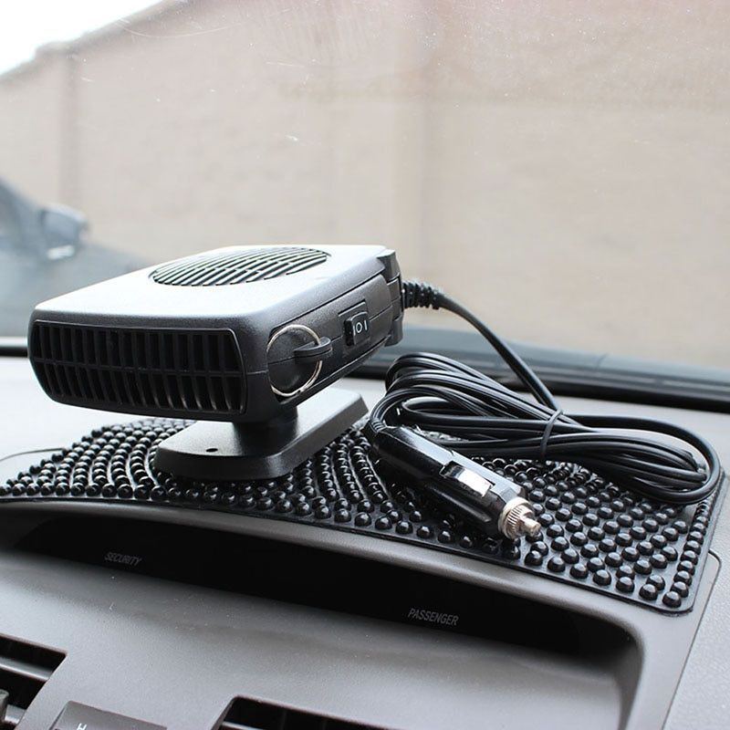 DC 12V 15W Portable Auto Car Vehicle Heating Cooling Heater Fan Car Defroster Demister Car styling Interior Heating Fan