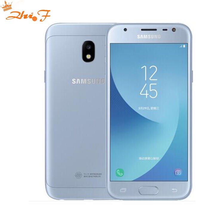 Original Samsung Galaxy J3 2017 J3300 j3308 Unlocked Dual SIM Fingerprint 13.0MP Snapdragon Quad Core LTE Smartphone With NFC