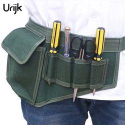 Urijk аппаратные электрические сумки для инструментов регулируемый пояс инструменты карманы строительные пакеты толстые холщовые сумки без ...