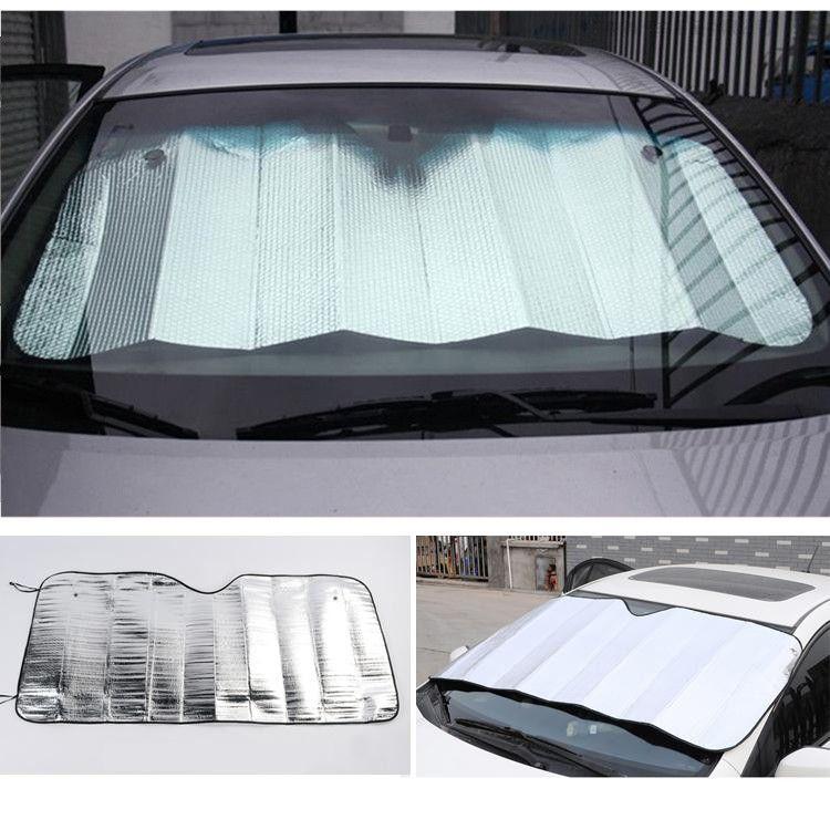 Tapetum Lucidum Car Window Sun Shade Curtain Windshield Foam Screen Sunshade Sun Cover Auto Vehicle Window Cover