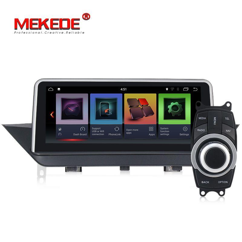 HD ID6 stil 10,25 Quad Core Android 7.1 Auto DVD Für BMW X1 E84 2010-2015 Mit Bluetooth Nand flash Wifi Spiegel Link GPS