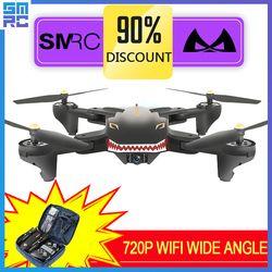 XS809W Melayang Balap Helikopter RC Drone dengan Kamera HD Drone Profissional FPV Quadcopter Pesawat Bercahaya Mainan Menyenangkan untuk Anak Laki-laki