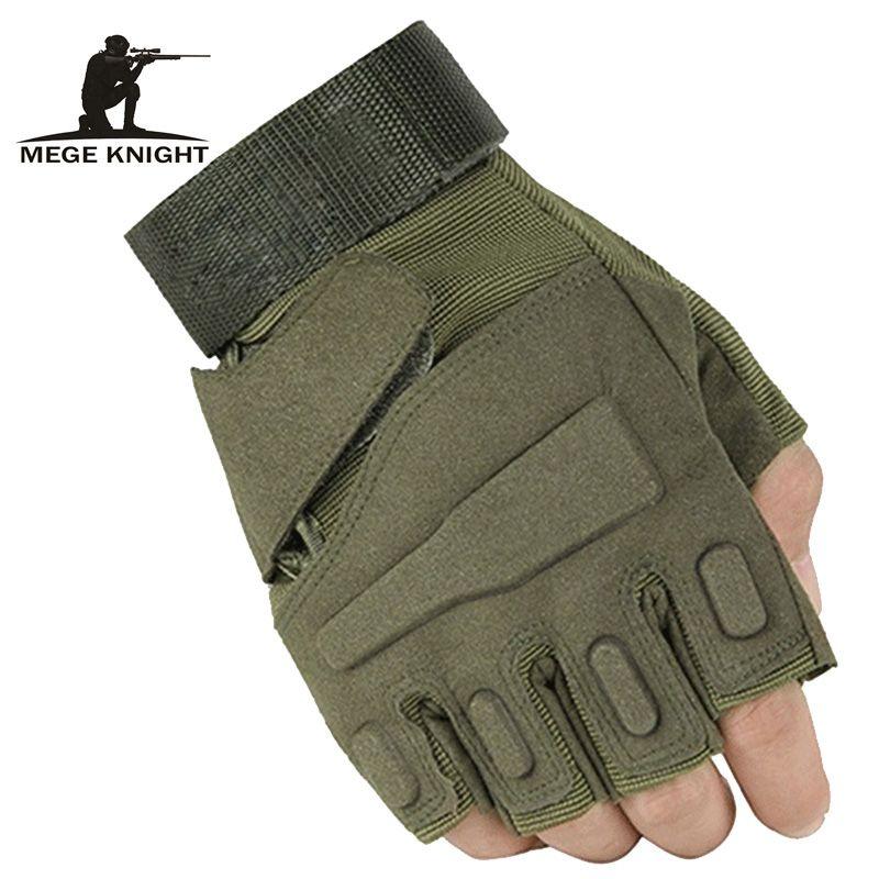 Militaire usa forces spéciales gants tactiques combat combat anti-dérapant noir demi-doigt gants