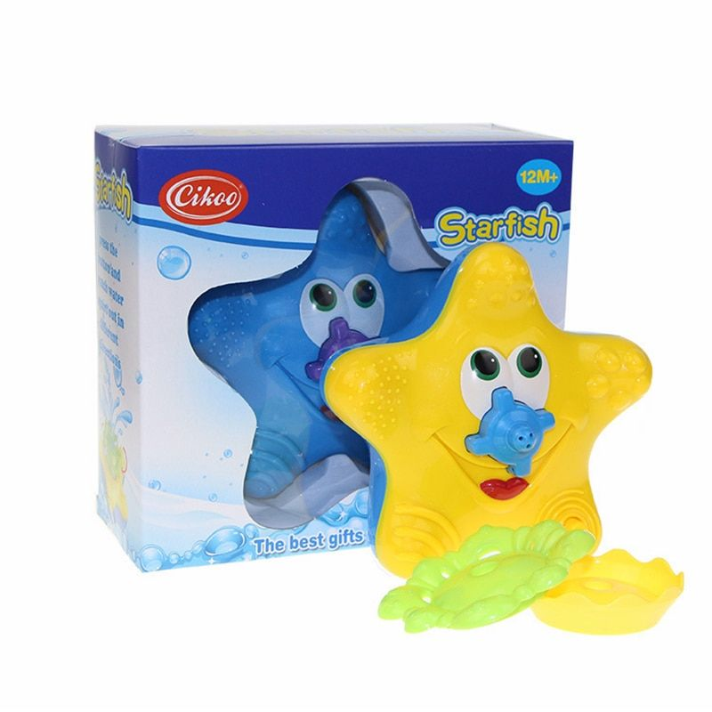 Bain d'eau jouet de bain étoile de mer bébé sassy jouets natation WJ083