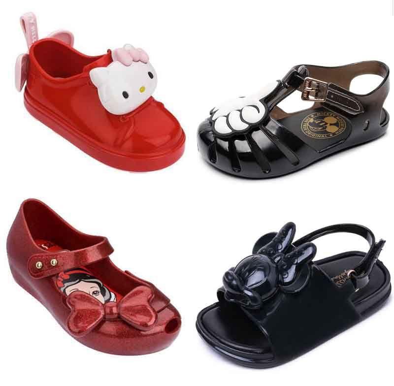 Enfants sandales melissa sandales enfants confortable