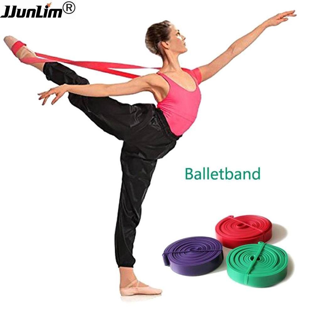 Latex Ballet Bande Stretch pour Une Flexibilité Totale De Danse et Gymnastique Formation Pied Stretch Ballet Doux Bandes D'ouverture