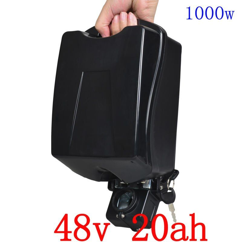 US EU no Tax High Power 48V 1000W electric bike battery 48V 20AH lithium ion battery with 30A BMS 54.6V 2A charger