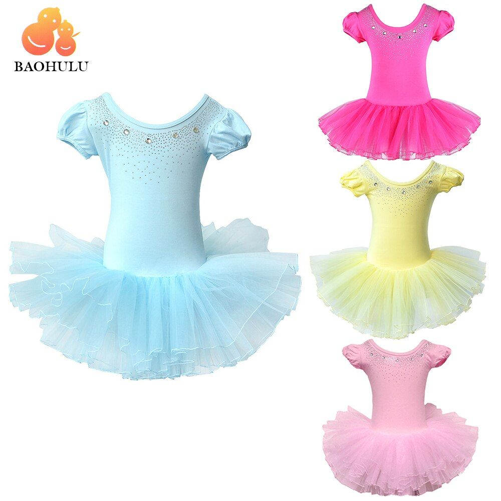 BAOHULU jolies filles robe de Ballet pour enfants fille danse vêtements enfants Ballet Costumes pour filles danse justaucorps fille danse porter