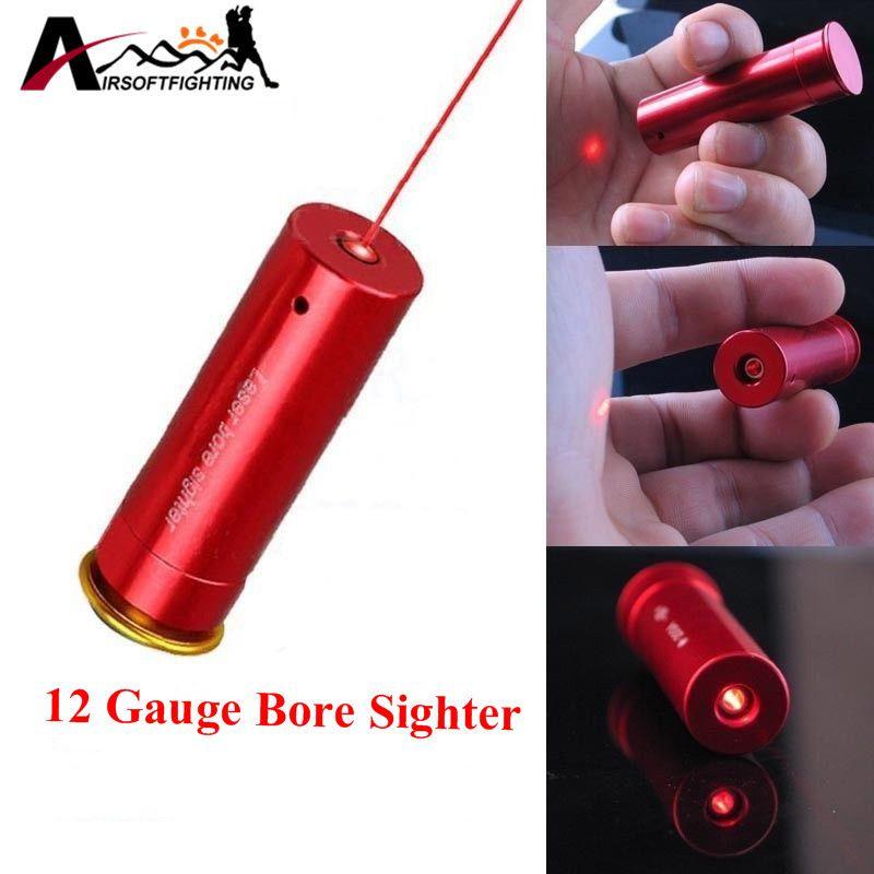 Red Laser Bore Sight 12 Gauge Barrel Cartridge Sight Für 12GA Kaliber Jagd Scopes Riflesighter Jagdoptik