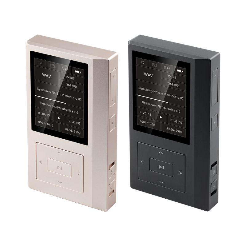 QLS QA361 HiFi Lossless Pure Sound DSD hard code Music Player MP3 Dual Femtosecond Clock AK4495SEQ DAC chips 6*OPA1622 3800mAH