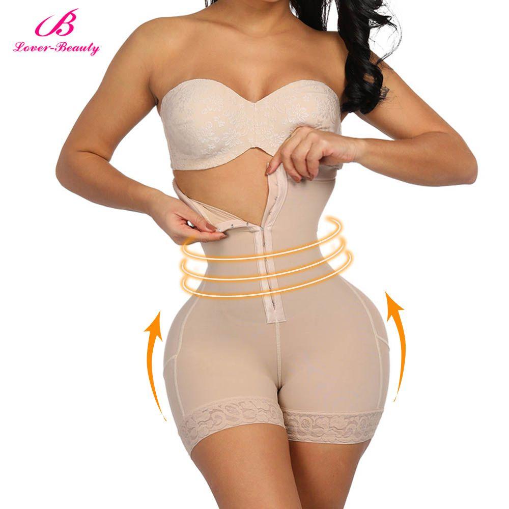 Amant beauté culotte de contrôle de taille haute pour la récupération du ventre Compression bout à bout sous-vêtements amincissants ceinture post-partum