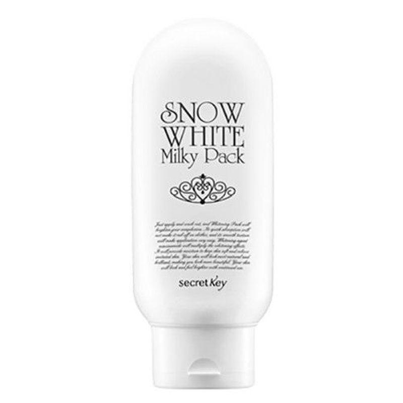CLÉ SECRÈTE Neige Blanc Laiteux Pack 200g Visage Peau masque blanchissant Visage Soins de La Peau Hydratant masque facial Corée Cosmétiques